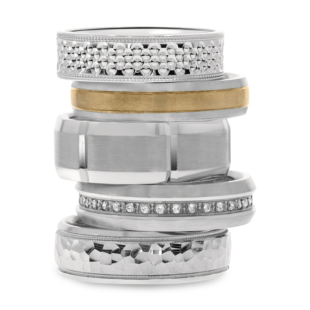 Stack of 5 rings