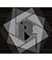Logo in bottom line High-DPI (retina) logo 58x66 Light grey